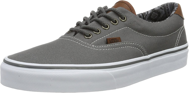 Vans Unisex Adults Era 59 Low-Top Sneakers, Grey C L , 12 UK 47 EU