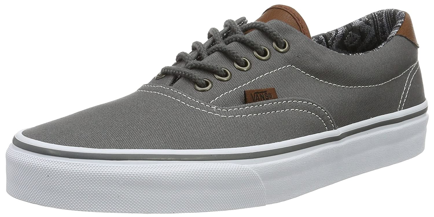 Vans Era 59 B01DXA7Q0K 5.5 B(M) US Women / 3.5 D(M) US Men|(C&l) Pewter/Italian Weave