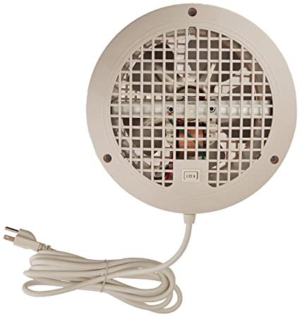Suncourt ThruWall 2-Speed Room To Room Fan for Indoor Air Ventilation