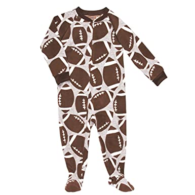 7e08c0e3c1 Image Unavailable. Image not available for. Color  Carter s Boys Fall 2011 Football  Footed Pajama Blanket Sleeper (4 Kids)