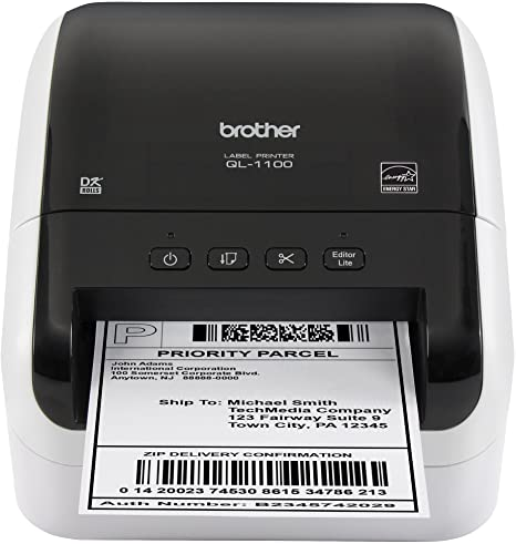 Amazon.com: Brother QL-1100 impresora de etiquetas térmicas ...