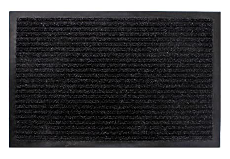 80 x 180 cm Schmutzfangmatte schwarz Fußmatte Fußabtreter Türmatte Außen