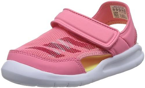 1feac3c232a1 adidas Girls Swimming FortaSwim Sandals Strap Slides Summer Beach (EU 28 -  UK 10K -