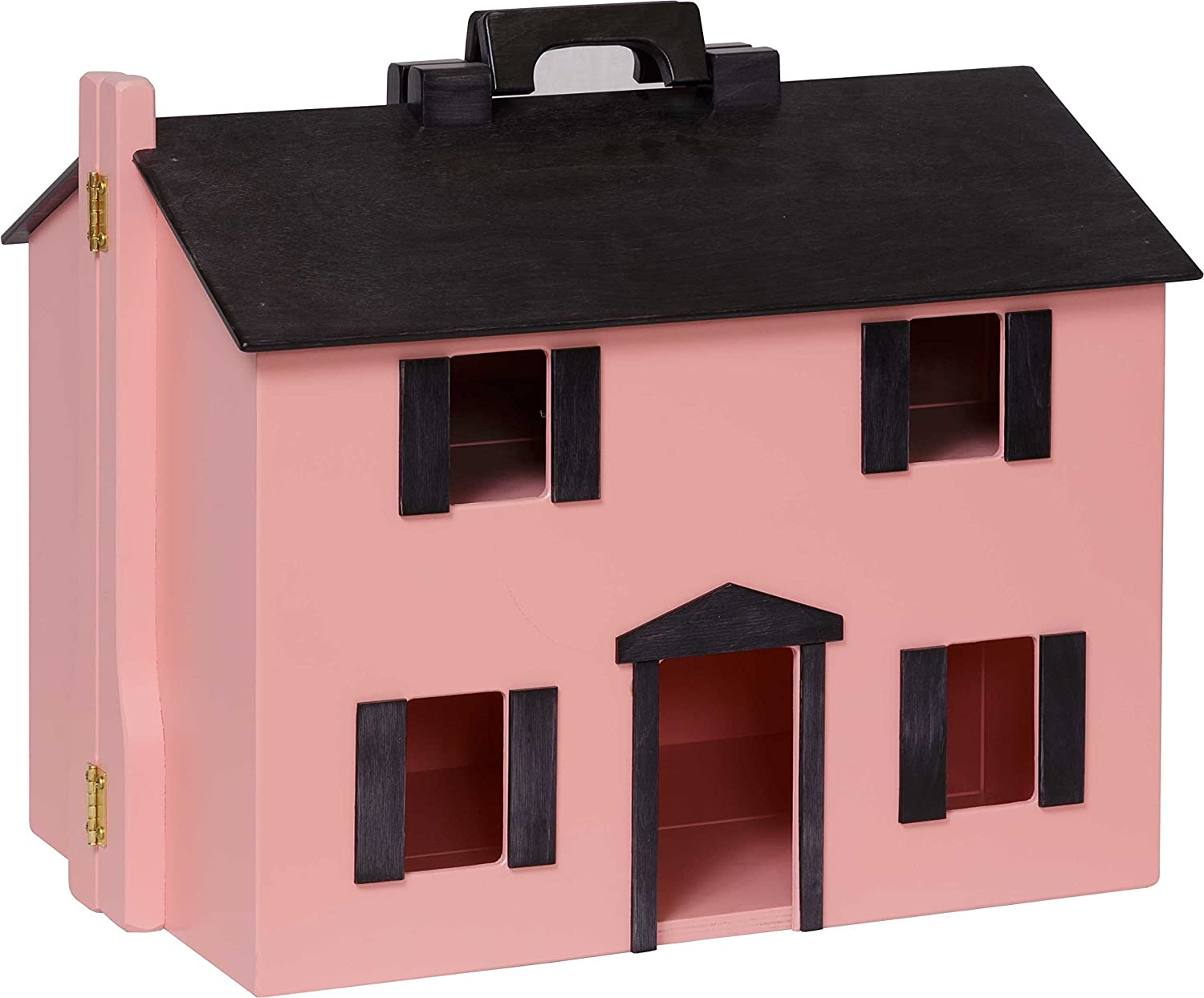 Amazon Com Clip Clop Large Furnished Dollhouse Portable Folding