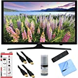Samsung UN48J5200 - 48-Inch Full HD 1080p LED HDTV Hook-Up Bundle includes UN48J5200 48-Inch Full HD 1080p LED HDTV, Screen Cleaning Kit, 6' HDMI Cable x 2, 6 Outlet/2 USB Wall Tap and Microfiber Cleaning Cloth