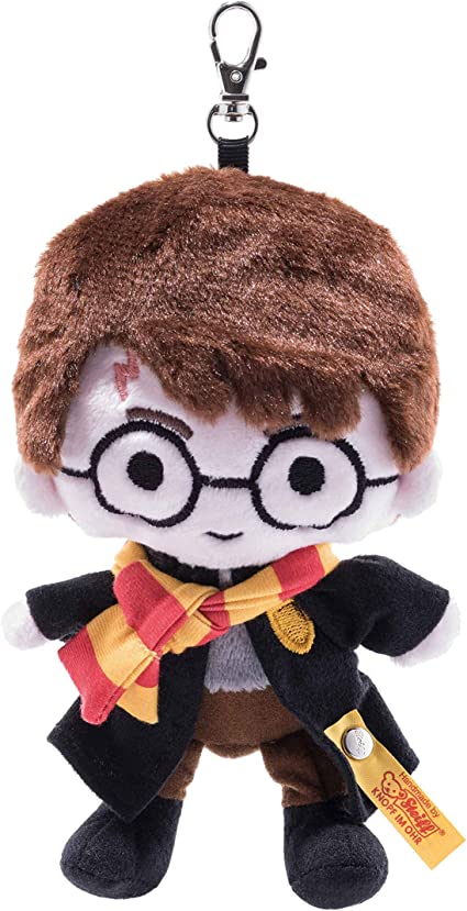 Harry Potter movable Key Chain Ron Hermione key ring Hogwarts Noble Collection