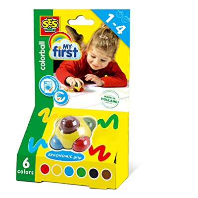 SES Creative Children's Colorball: Toys & Games