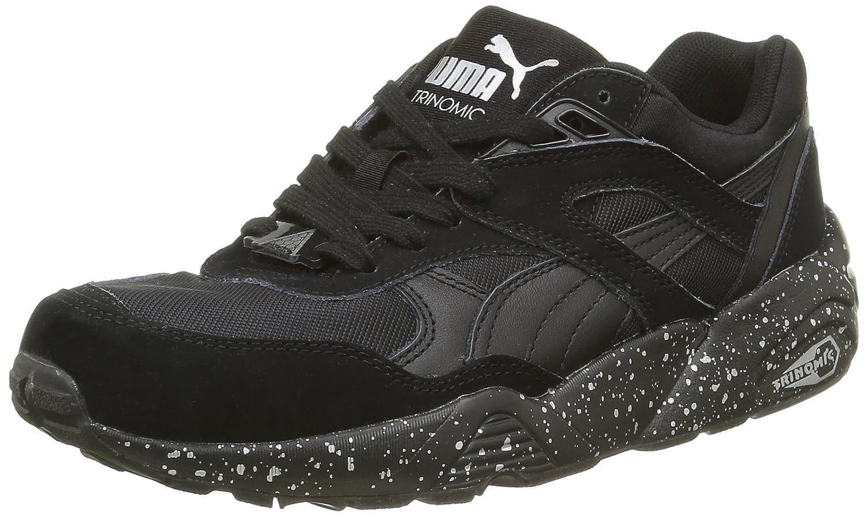 Puma R698 Speckle2 - Zapatillas de Deporte Unisex Adulto 41 EU|Negro - Noir (Black/Silver)