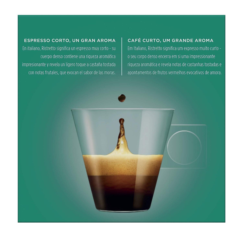 NESCAFÉ Dolce Gusto Café Ristretto | Pack de 16 Cápsulas: Amazon.es: Amazon Pantry