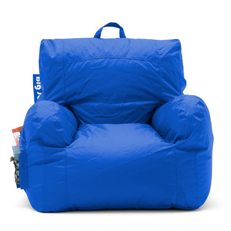 Amazon Big Joe Dorm Bean Bag Chair Sapphire Kitchen & Dining