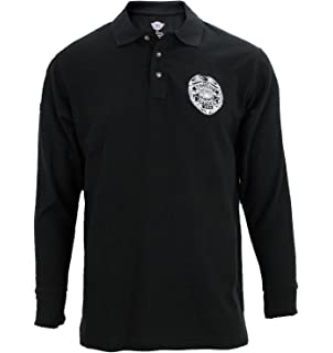 Amazon.com: Security Officer Long Sleeve T-shirt (Black) (X ...