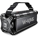 W-KING 50W Bluetooth Speaker, Portable Wireless Speakers Waterproof with 24 Hours Playtime, 8000mAh Battery Power Bank…
