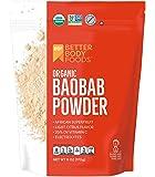 BetterBody Foods Organic Baobab Powder with Electrolytes, Iron, and Vitamin C (6 oz.)