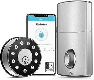 Smart Lock, Keyless Entry Door Lock, Smart Door Lock, Deadbolt, Smart Lock Front Door, Digital Door Lock, Keyless Door Lock, Keypad Entry Door Lock, Passcode Door Lock, Code Door Lock