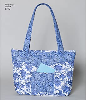 product image for Simplicity Quilted Shoulder Bag Sewing Patterns, One Size Only