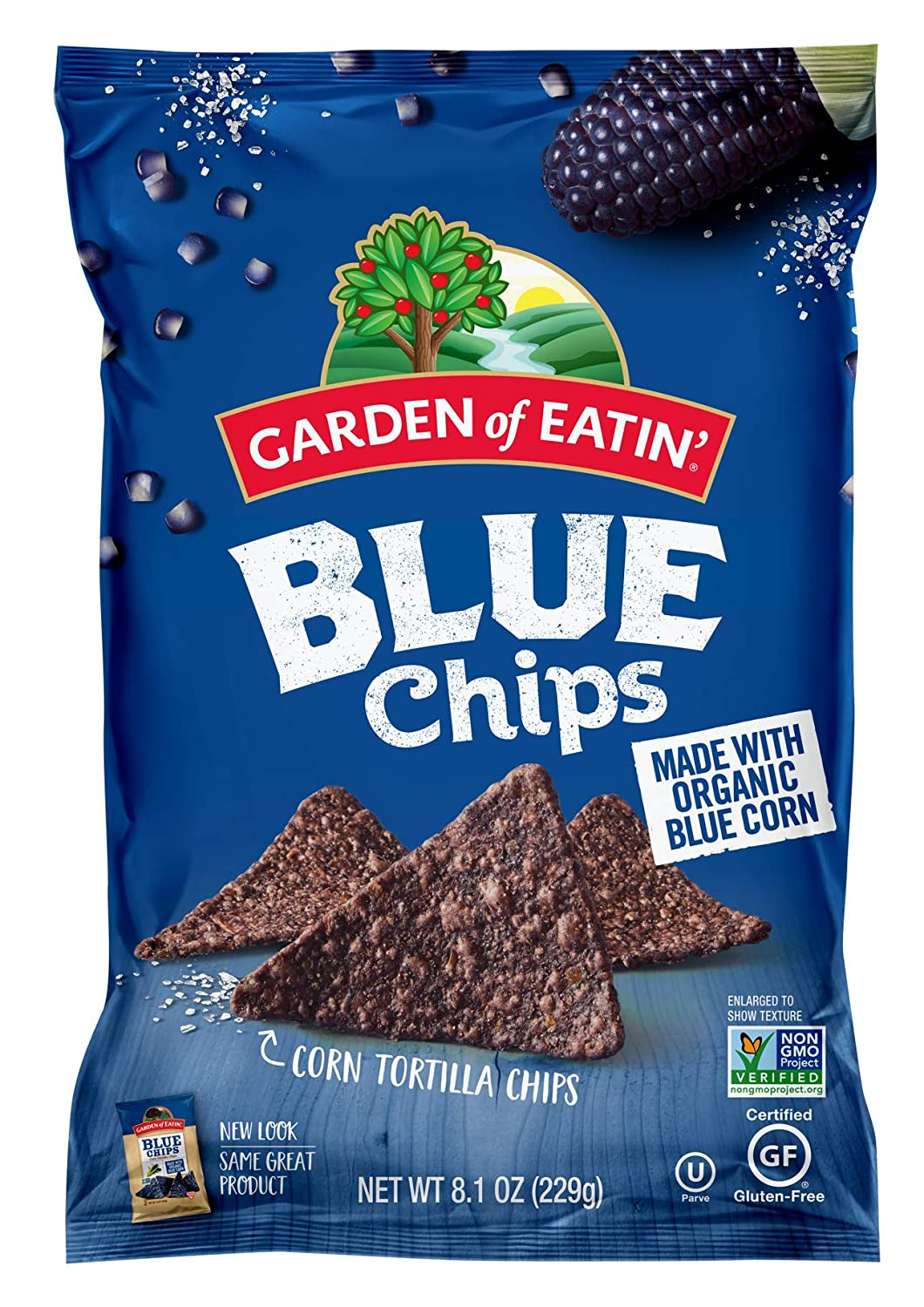 Garden of Eatin' Blue Corn Tortilla Chips, 8.1 oz. (Packaging May Vary)
