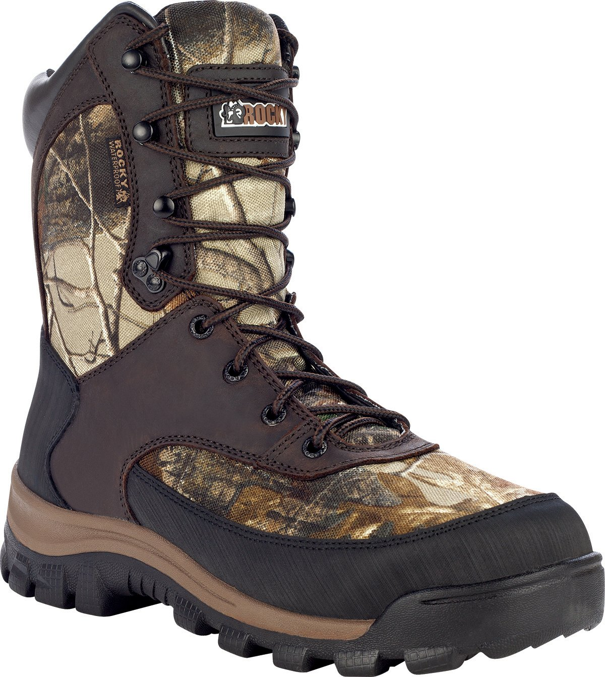 Rocky Men's 4754 400g Insulated Boot,Real Tree AP,9.5 M US