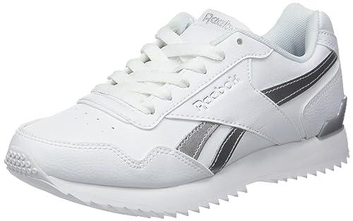 Reebok Royal Glide Rplclp, Zapatillas de Trail Running para Niñas, Blanco White/Silver Met 000, 35 EU: Amazon.es: Zapatos y complementos