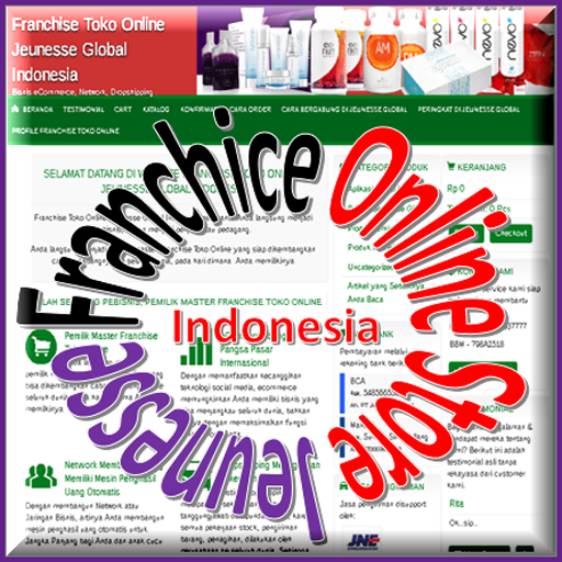 Franchise Toko Online Jeunesse Global - Indonesia Online Store