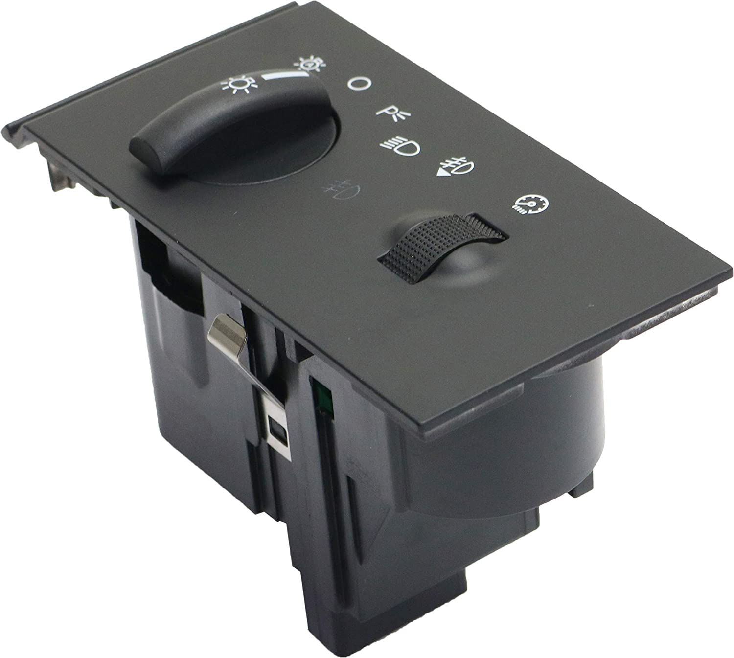 Headlight Switch Compatible With 2005-2007 Ford F-250 F-350 F-450 F-550 Super Duty Blade type 13 Prong Male Terminal