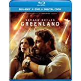 Greenland Blu-ray + DVD + Digital - BD Combo Pack