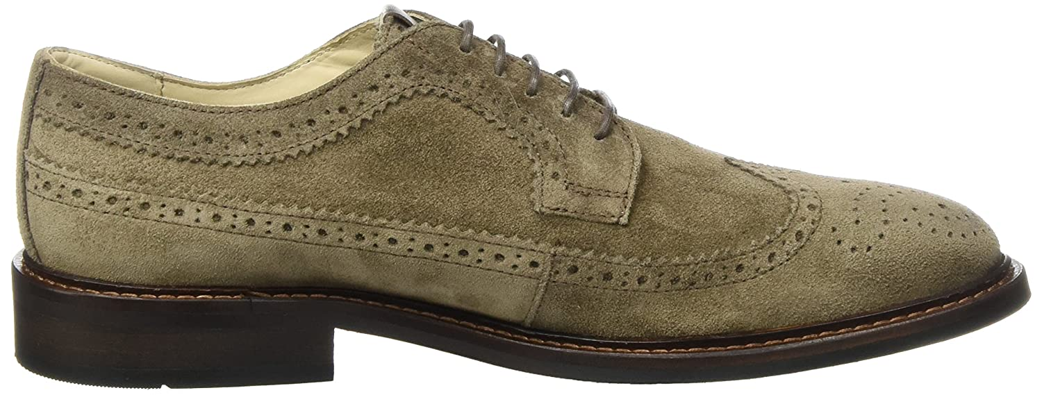 Lace Up Shoe 70823773402303, Brogues Homme, Marron (Taupe), 44 EUMarc O'Polo