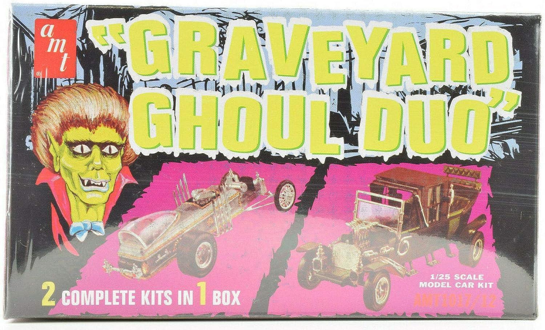 AMT//VRC Hobbies Graveyard Ghoul Duo 1:25 Scale Plastic Model Car Kits 1017