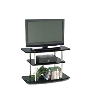 Designs2Go 3-Tier TV Stand for Flat Panel Television