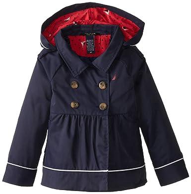 0244bad7d5463 Amazon.com  Nautica Girls  Belted Trench Coat  Clothing