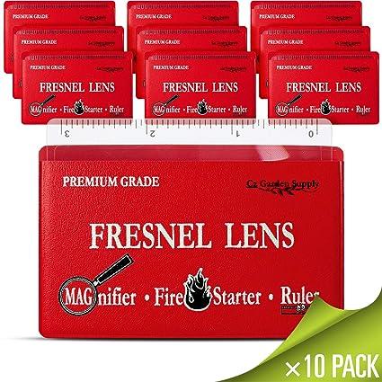 Premium grado lente de Fresnel lupa de bolsillo tipo cartera ...