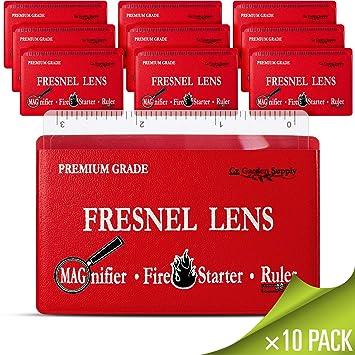 Amazon.com: Lente de Fresnel Premium Grade bolsillo cartera ...