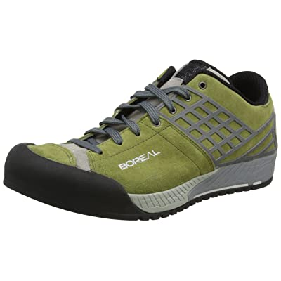 Boreal Climbing Shoes Mens Lightweight Bamba Olivia 7.5 Olive 30401: Sports & Outdoors