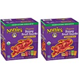 Annies YjaRRt Organic Bunny Fruit Snacks, Variety Pack, 24 Pouches (2 Pack)