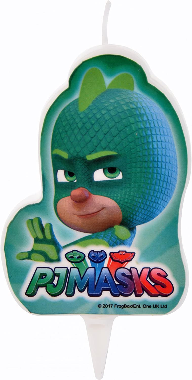 Vela de cumpleaños PJ Masks Gekko 7.2 x 6 cm