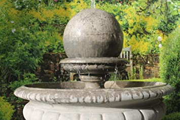 Hampshire Garden Ball Stone Fountain
