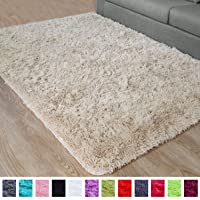 PAGISOFE Super Soft and Bright Colored Fluffy Shag Area Rugs and Carpets, Cute Decor, Cozy Accent, Shaggy Plush Living…