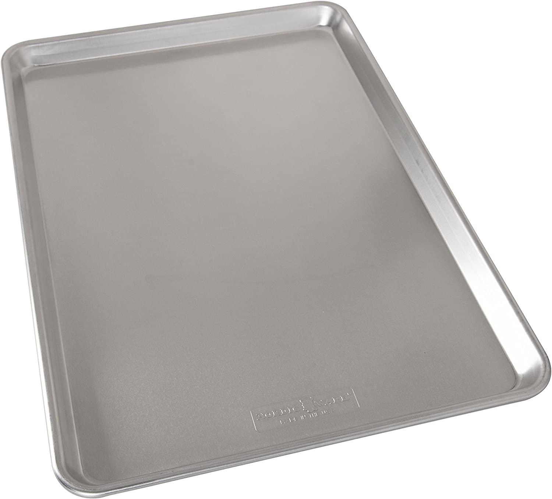 Nordicware Natural Aluminum Commercial Baker/'s Half Sheet Silver 2 Pack