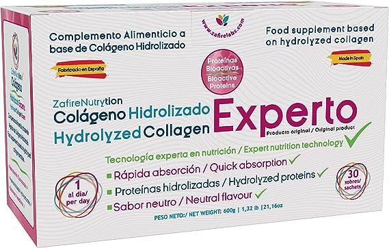 100% COLÁGENO Hidrolizado Experto Zafire Nutrytion ...