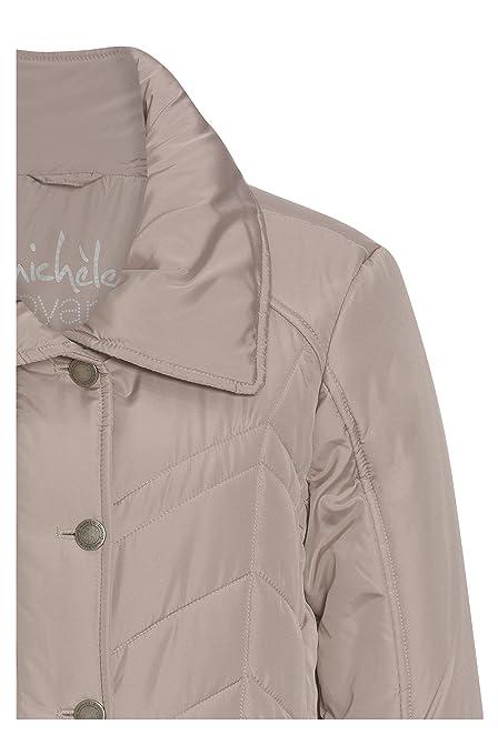58afbff9c033 MICHÈLE BOYARD Übergangsjacke für Damen Übergangs-Jacke Frauen Outdoor  Herbst casual  Amazon.de  Bekleidung