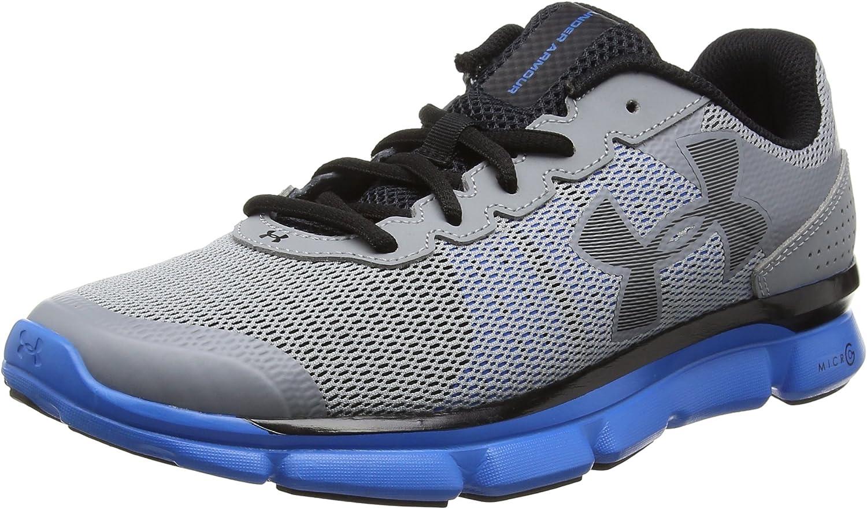 Black//Rhino Gray Under Armour Men/'s Micro G Speed Swift 2 Running Shoe