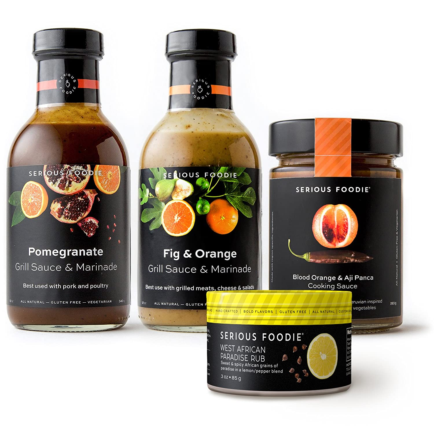The Serious Foodie Gift Pack – Dinner Party Collection (Marinades and Rubs)