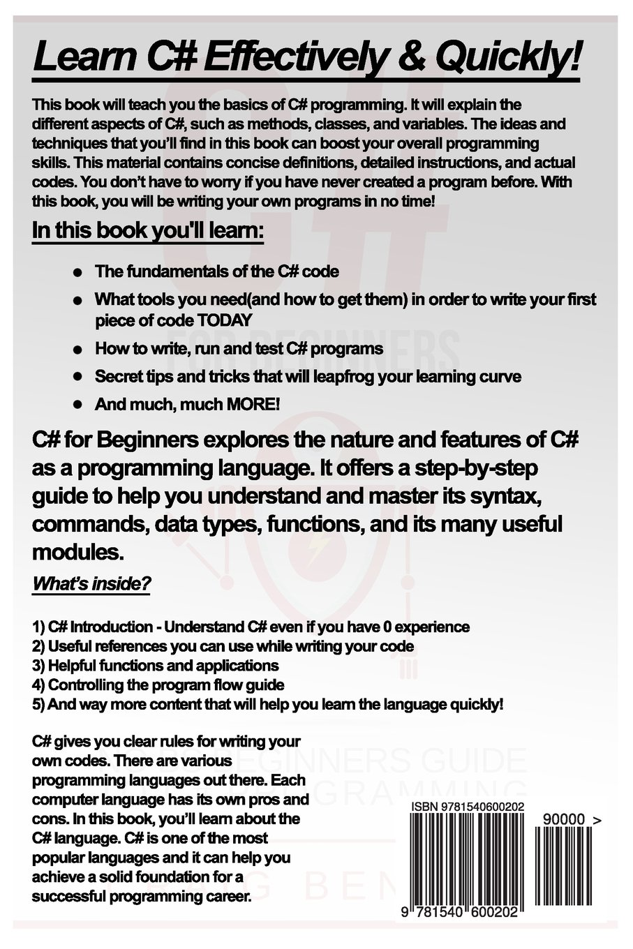 com c the most useful beginners guide to c programming com c the most useful beginners guide to c programming coding for beginners volume 2 9781540600202 craig benson books