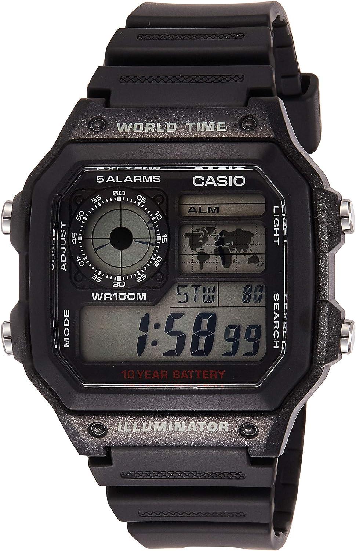Casio AE1200WH-1AV Hombres Relojes