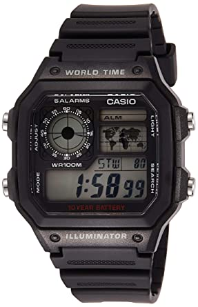 Amazon.com: Casio - Reloj digital para hombre, Core: Casio ...