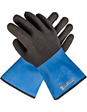 Grill Armor Extreme Heat Resistant Waterproof Oven Gloves - EN407 Certified 500C with Hot Liquid Protection - Cooking Gloves for BBQ, Grilling, Baking