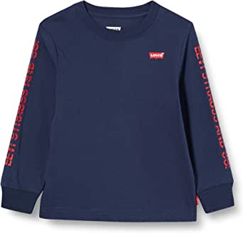 Levi's kids Lvb Ls Graphic Tee Shirt Camiseta para Niños