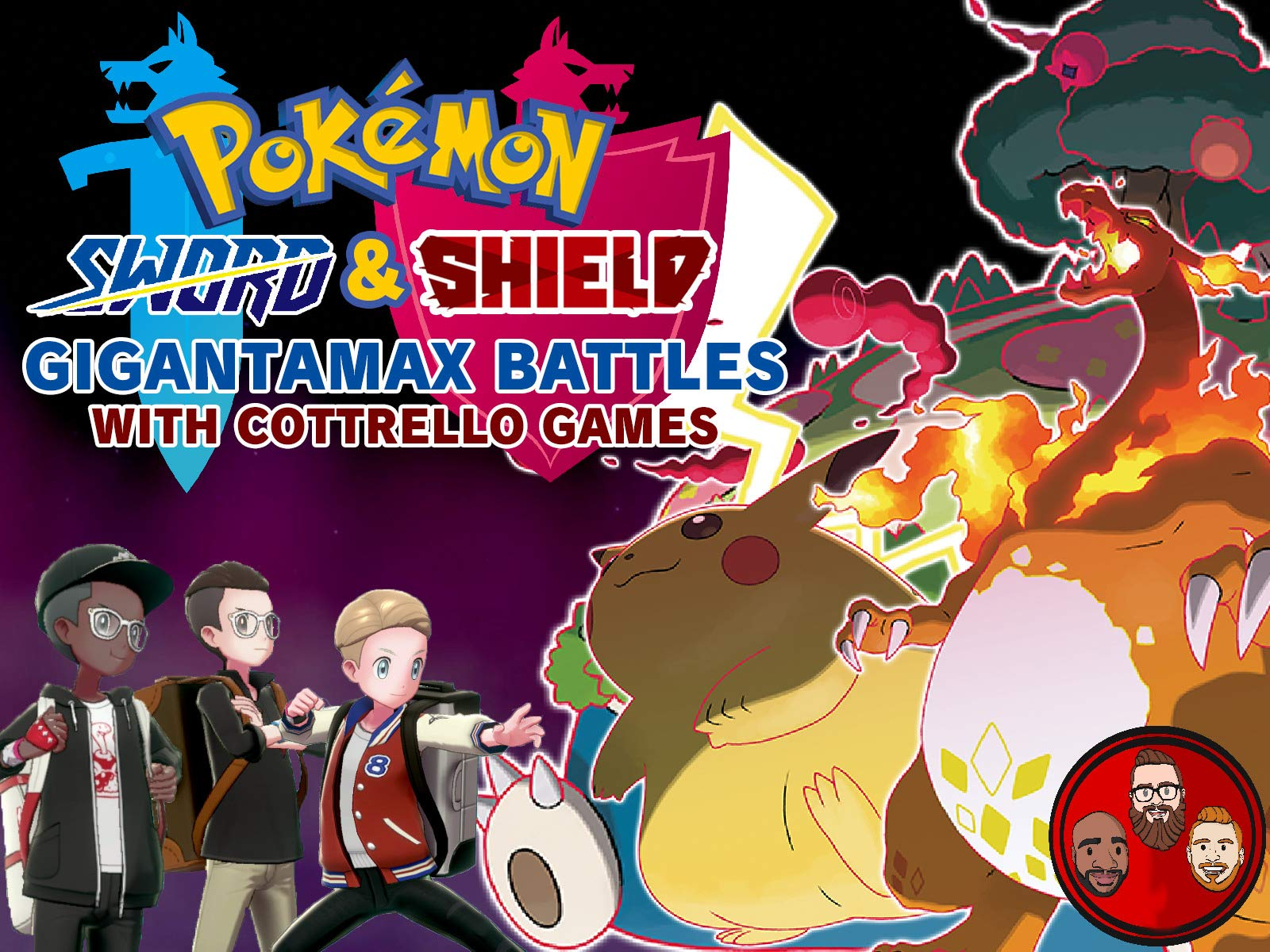 Pokemon Sword & Shield Gigantamax Battles with Cottrello Games