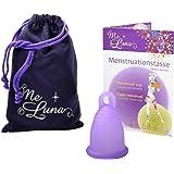 Me Luna Menstruationstasse Classic, Ring, Violett, Größe S
