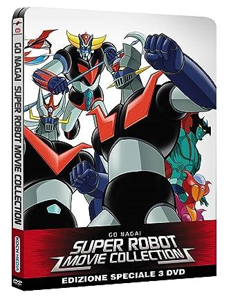 Go nagai super robot movie collection dvd amazon vario