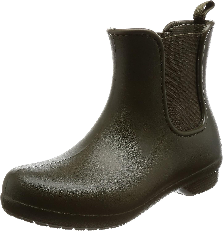 Crocs Womens Freesail Chelsea Rain Boot